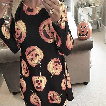 Fattigger [Halloween Decoraciones - Halloween Lady Pumpkin Print O ...