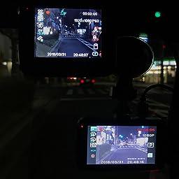 Amazon ドライブレコーダー 10万画素 1080pフルhd 170度広角 3 0インチ 車載カメラ 動体感知 衝撃録画 暗視機能 Gセンサー搭載 高速起動 小型 防犯 ドラレコ 日本語取扱説明書付き Sdカードは含まない 18年最新改良版 ドライブレコーダー本体 車 バイク