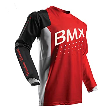8ad10c853 Image Unavailable. Image not available for. Color  Wisdom Leaves Mens  Cycling Jerseys Long Sleeve MTB Bike Bicycle Shirts - Breathable and Quick  Dry
