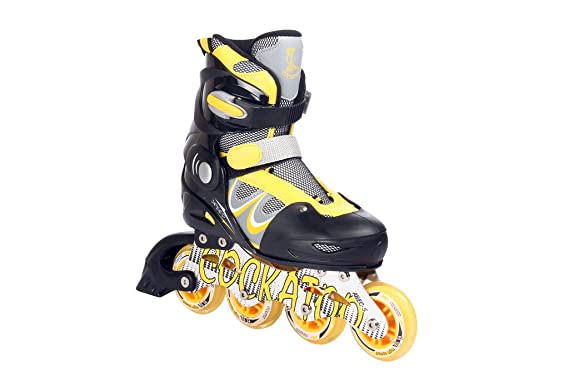 Cockatoo Inline Skates With Steel Chassis Inline Skates at amazon