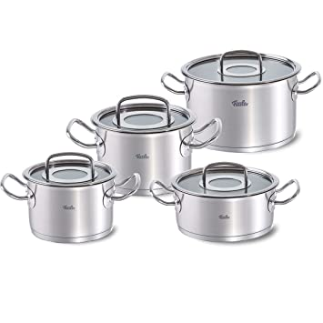 Fissler 084 126 04 0000 Original Profi Collection Set 4 Teilig Mit