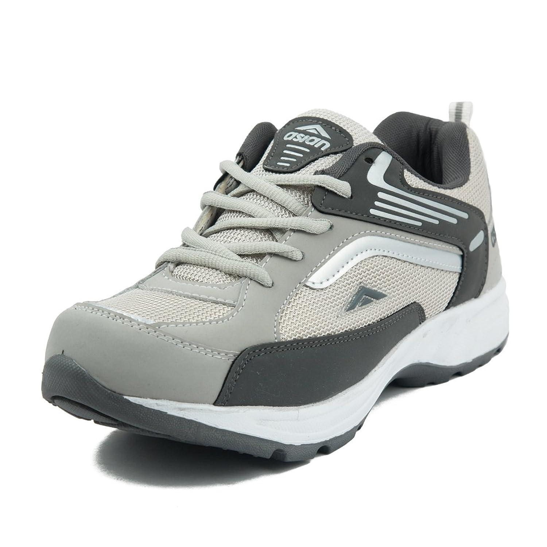 Asian Shoes FUTURE-01 Light Grey Dark Grey Men\u0027s Shoe