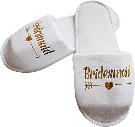 Pairs Wedding Pajama Party Slippers