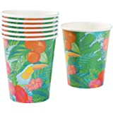 Talking Tables Tropical Fiesta Paper Cups, Pack of 12