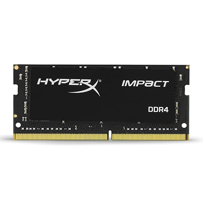 HyperX Kingston Technology Impact 8GB 2666MHz DDR4 CL15 260-Pin SODIMM Laptop Memory Internal Memory Card Readers at amazon