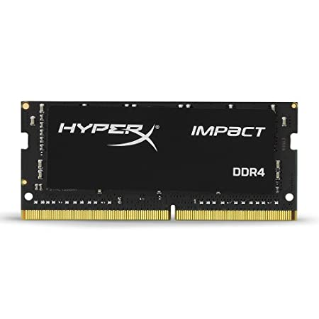 HyperX Kingston Technology Impact 16GB 2666 MHz DDR4 CL15 260-Pin Sodimm Laptop Memory Internal Memory Card Readers at amazon