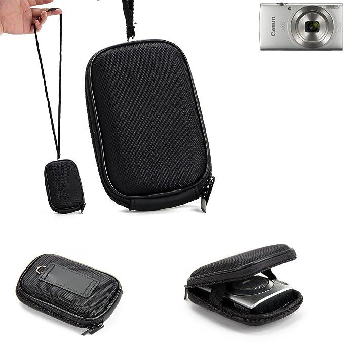 Black Eva Digital Small Camera Carry case Bag Pouch for Canon PowerShot IXUS190