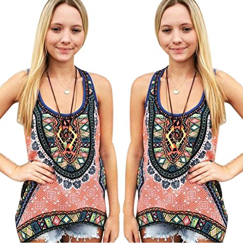 Gillberry Women Summer Vest Top Sleeveless Shirt Blouse Casual Tank Tops T-Shirt
