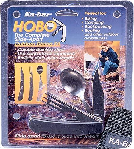 Ka-Bar 2-1301-4 Hobo 3-in-1 Utensil Kit