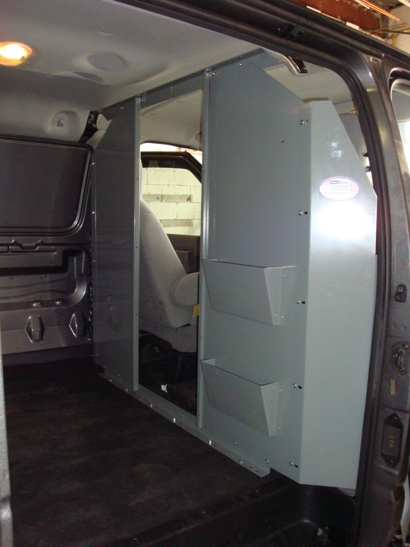 Two Slots File/Binder/Paper Holder for Van Safety Partition