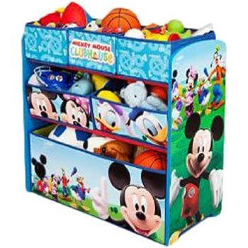 Amazon Com Delta Children Multi Bin Toy Organizer Disney