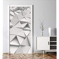 MyMaxxi | Deur verfraaien met deurbehang zelfklevend 90x200 Polygone 1 | Deurfolie zelfklevend | Zelfklevende…