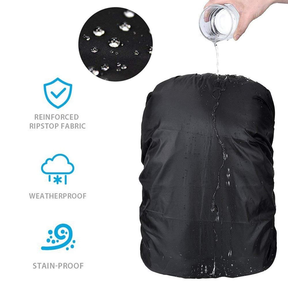 VORCOOL Waterproof Backpack Rain Cover 15L-35L Daypack Dustproof Rainproof Cover