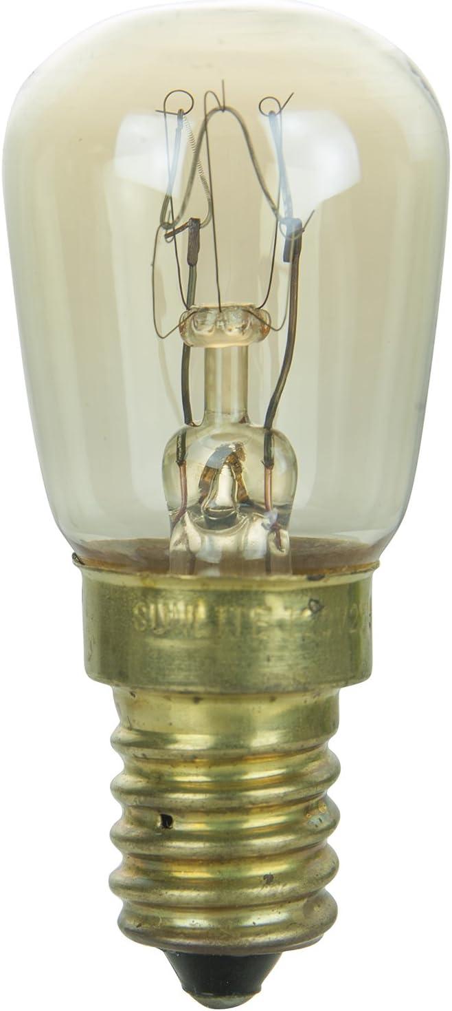 Sunlite 15WPR/E14 Incandescent 15-Watt, European Based, PRE Bulb, Clear
