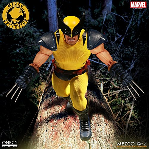 NYCC New York Comic Con 2017 Exclusive Mezco ONE:12 Wolverine
