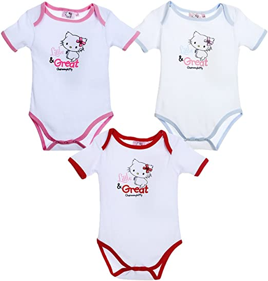 Lote 3 Body Hello Kitty (12 meses): Amazon.es: Ropa y accesorios