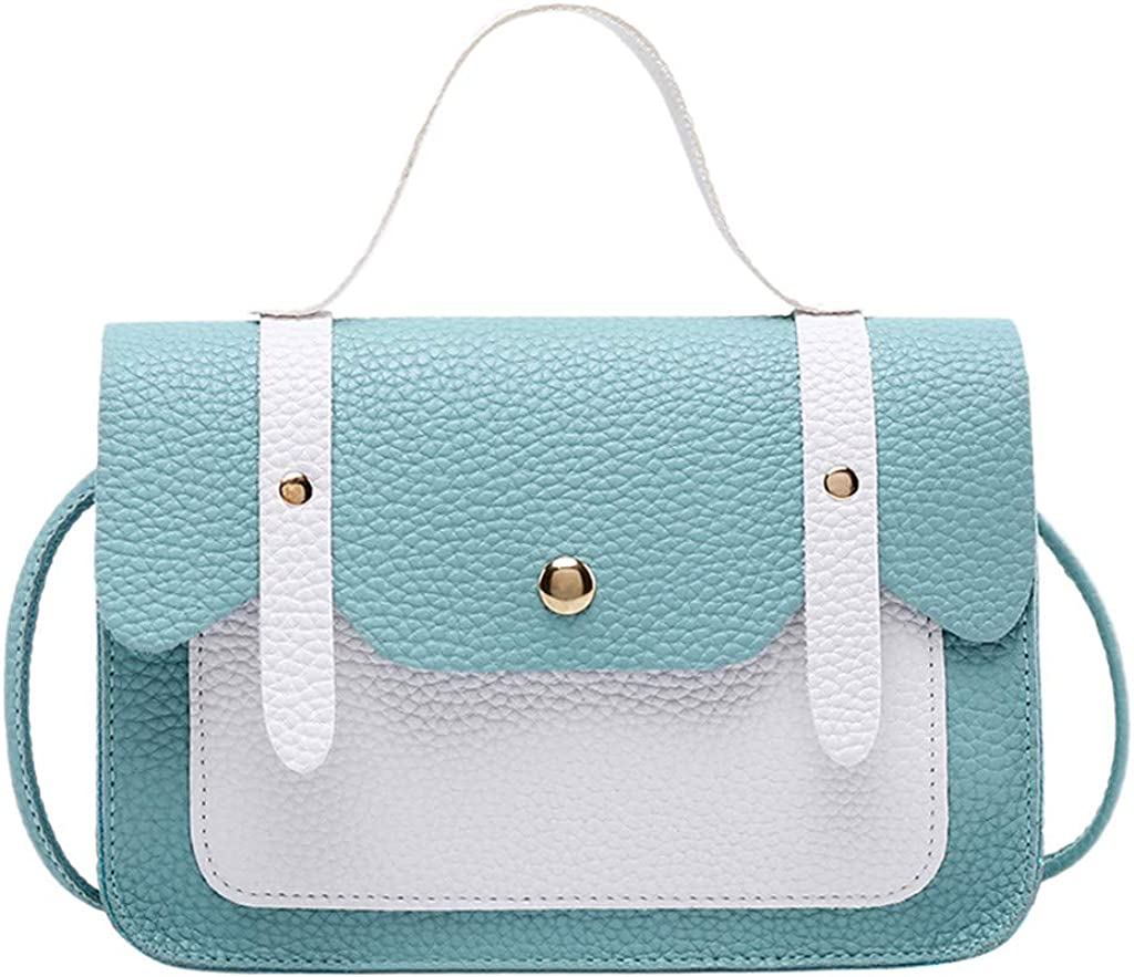 iHAZA Mode Femme Hasp Hit Color Sacs /à Bandouli/èRe Sac De Messager Coin Bag Sac De T/éL/éPhone