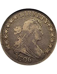 1806 P Bust Half Dollars Pointed 6 Stems Half Dollar VF25 NGC\CAC