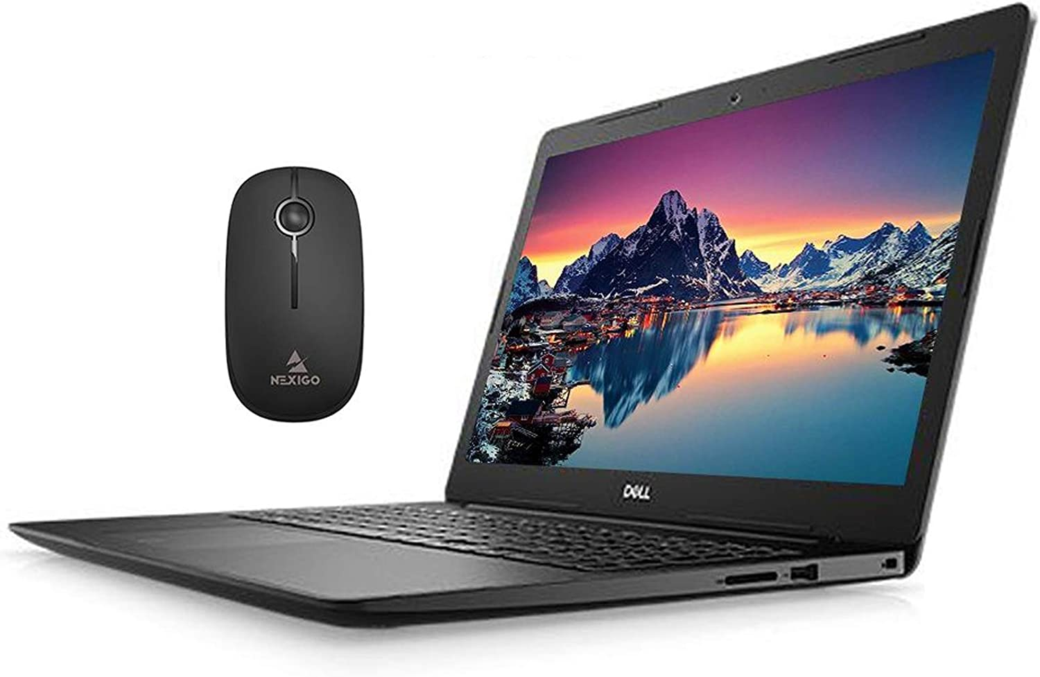 2020 Newest Dell Vostro 15 3590 FHD 1080P Laptop, Intel 4-Core i7-10510U up to 4.9 Hz, Radeon 610 2GB, 16GB RAM, 512GB SSD (Boot) + 1TB HDD, Win10 Pro + NexiGo Wireless Mouse Bundle