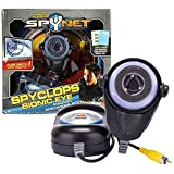 Jakks Pacific Year 2011 Real Tech SpyNet Series SPYCLOPS BIONIC EYE with 200X Specimen Magnification on Your TV Plus 4 Top Secret Documents