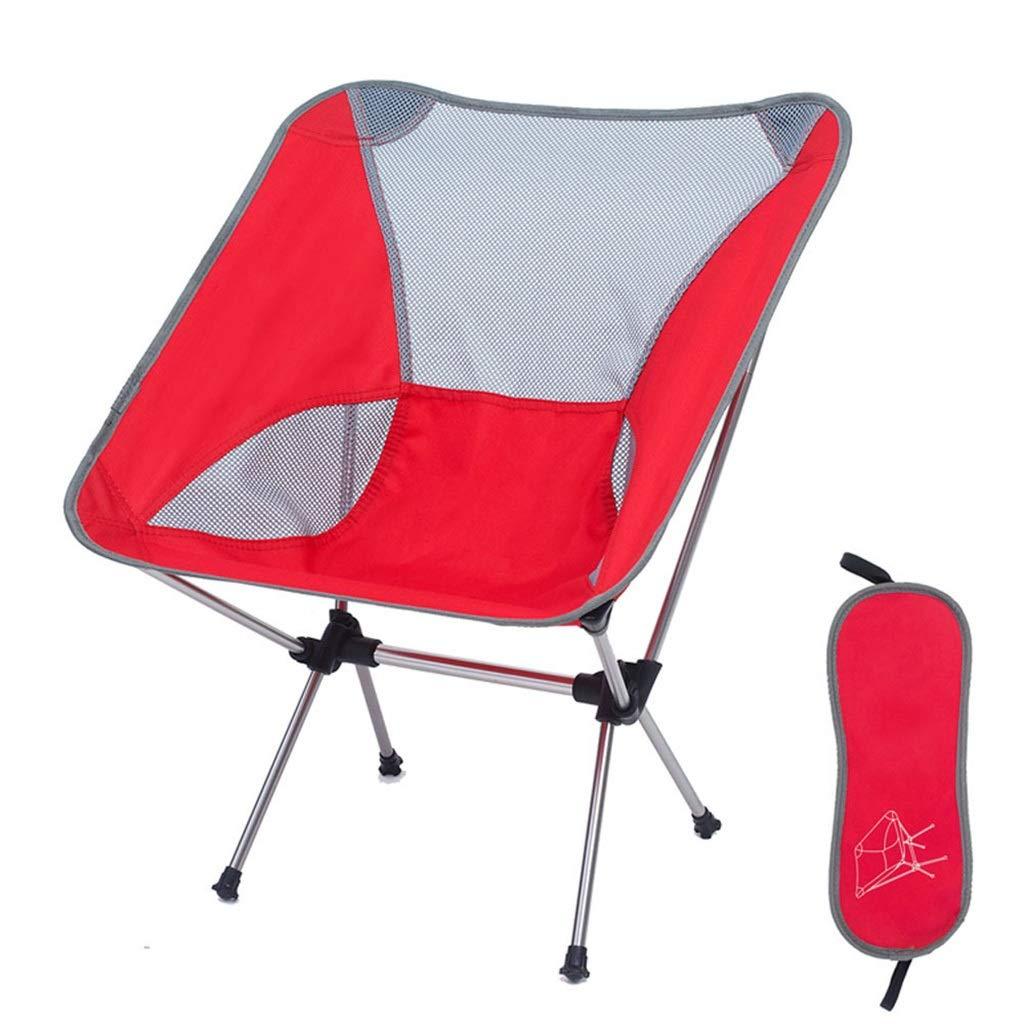 Yxx max Chaise Pliante extérieure Ultra-portable de pêche au Camping Lune préside la Chaise Longue de ménage étudiant