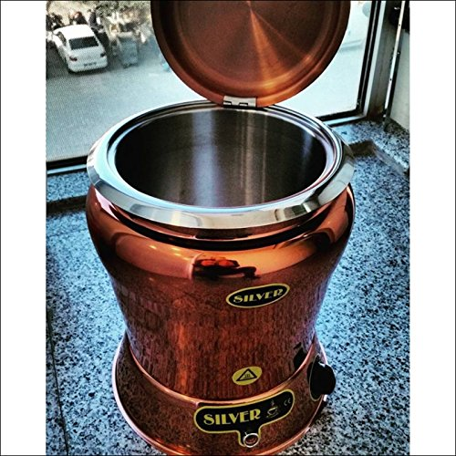 10 Quart Countertop - ALL EXCULISIVE COPPER COLOR 10 Qt Commercial Countertop Buffet Stainless Steel Countertop Soup Kettle Pan Warmer