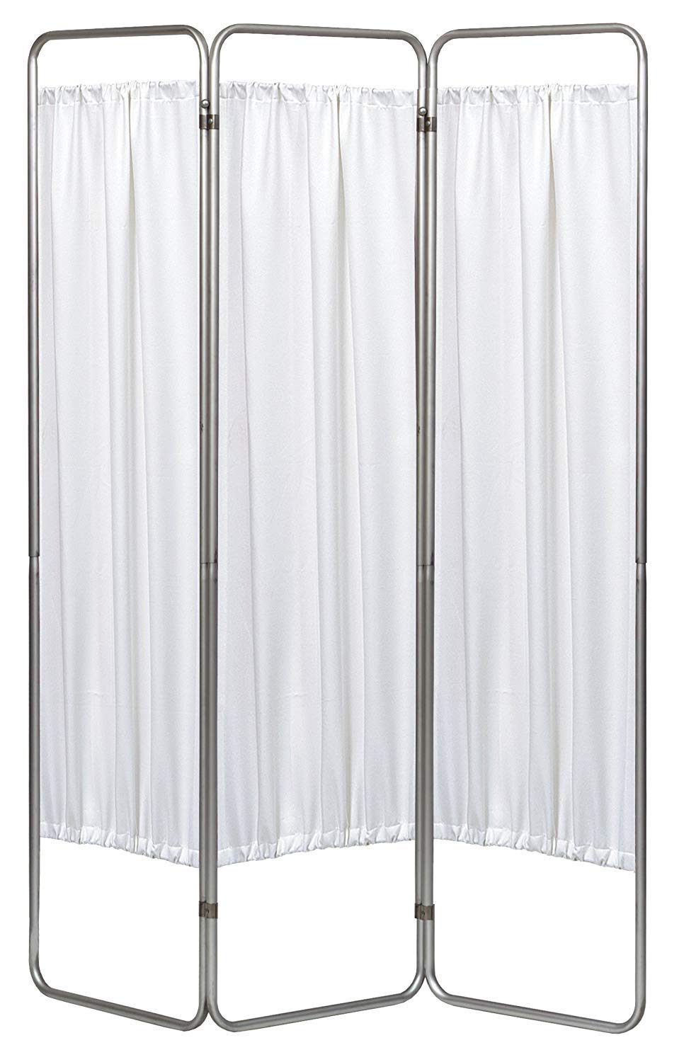 Omnimed 153093-WH 3 Panel Medical Privacy Screen w White Vinyl Panel by Omnimed (Image #1)
