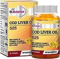 StBotanica COD Liver Oil 525 - 90 Softgels