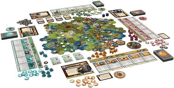 Fantasy Flight Games FFGCIV01 SID Meiers Civilization: A New Dawn - Juego de Mesa (Contenido en alemán): Amazon.es: Juguetes y juegos