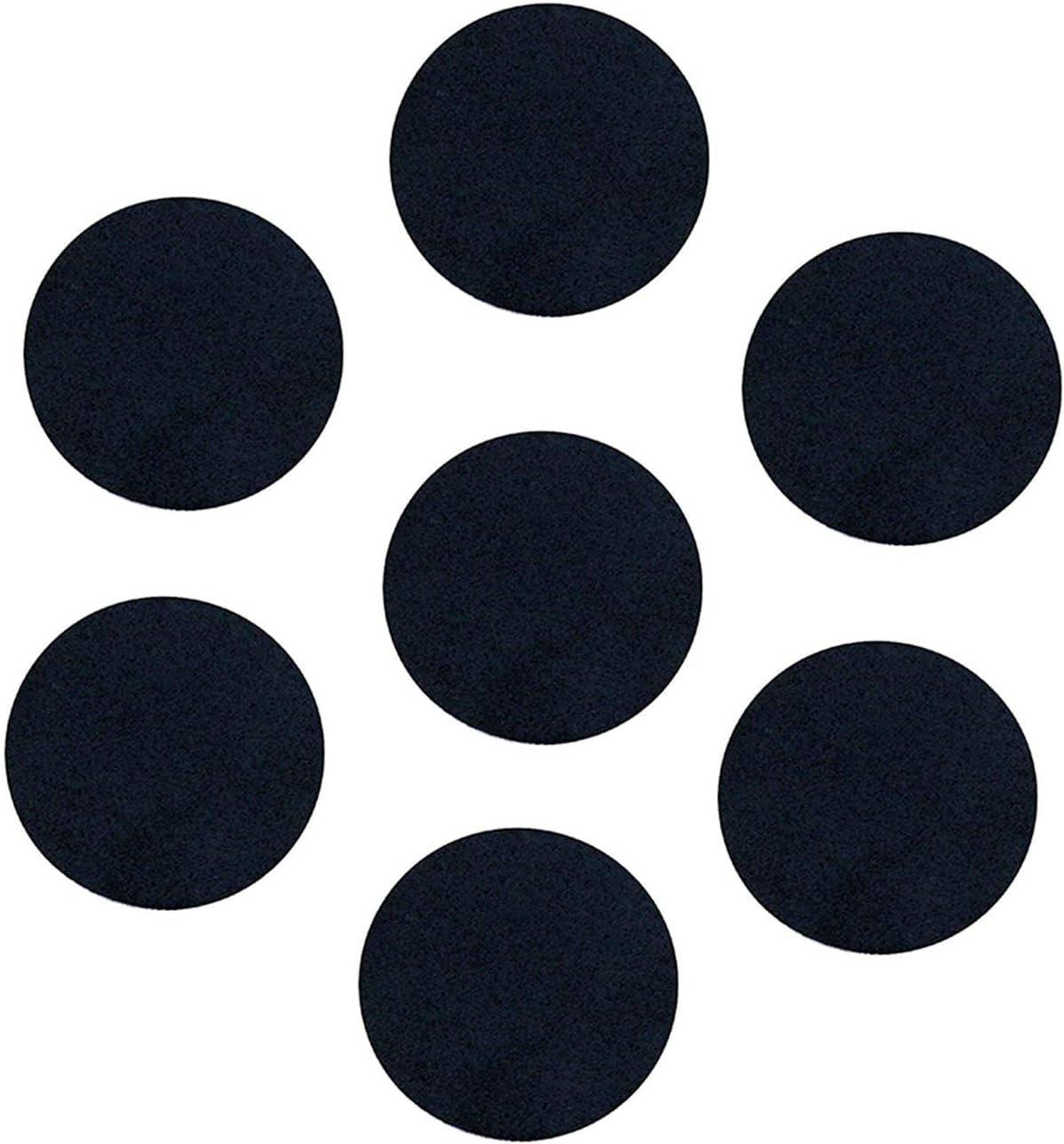 300 Pieces Black Adhesive Felt Circles Round Felt Pads DIY Circle Felt Self Adhesive Felt Pad for Halloween DIY Craft Projects Costume Decor 1//2 Inch, 1 Inch, 1.5 Inch