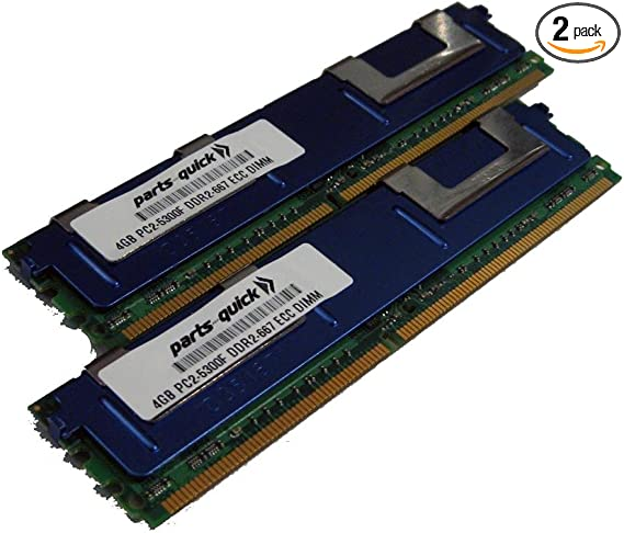 ECC RAM Memory Upgrade for The Compaq HP Workstation 4400 Series xw4400 PC2-5300 2GB DDR2-667 RB284UA#ABA
