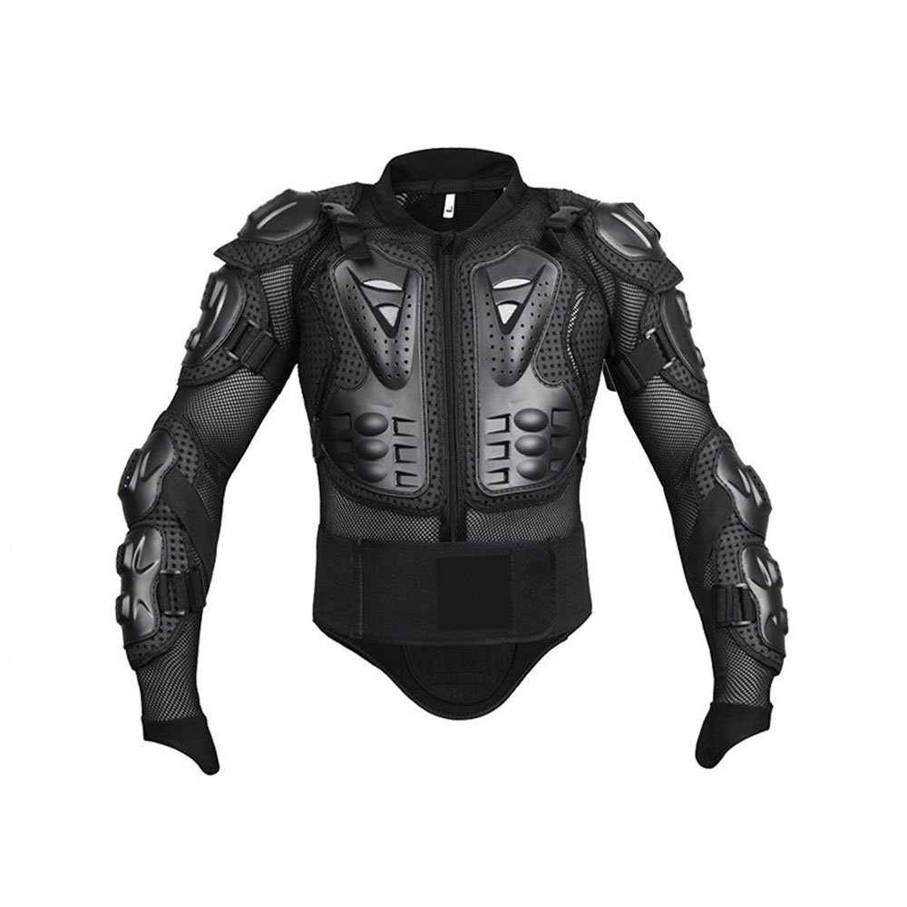 Quisilife Cycling Body Protector Motorcycle Body Protection Jacket (Color : Black, Size : XL)