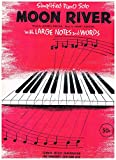download ebook moon river - simplified piano solo w/ large notes & words (sheet music) johnny mercer, henry mancini, arr. by geo. n. terry pdf epub