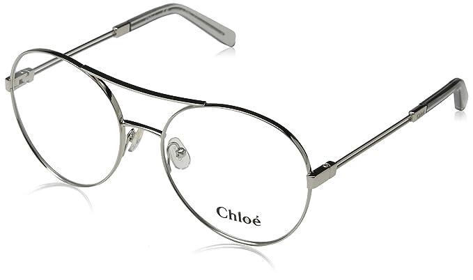 56dc39b9e5 Chloè CE2130 044 55 Monturas de Gafas, Silver/Light Grey, Unisex-niños:  Amazon.es: Ropa y accesorios