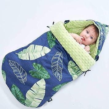 Saco de dormir anti-sobresaltado para bebés Bolso de bebé recién nacido Toalla Swaddle de algodón ...