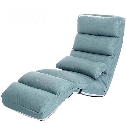 Amazon.com : GJM Shop Lazy Sofa Single Sofa Bed Folding ...