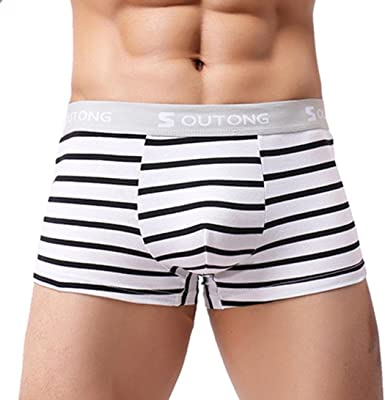 2018 Men/'s Mini Modal Boxer Briefs Bulge Pouch Trunks Underpants Underwear M~2XL