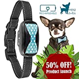 GoodBoy Humane Bark Collar for Small Dogs - Vibrating Anti Barking Device with New 2018 Design and Microchip Upgrade for Better Bark Detection - Rechargeable & Waterproof