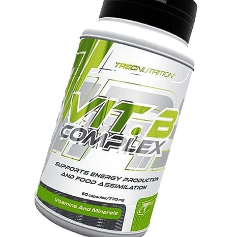 Vitamine B Complex 60caps - Complejo concentrado de las vitaminas del grupo B - Trec Nutrition