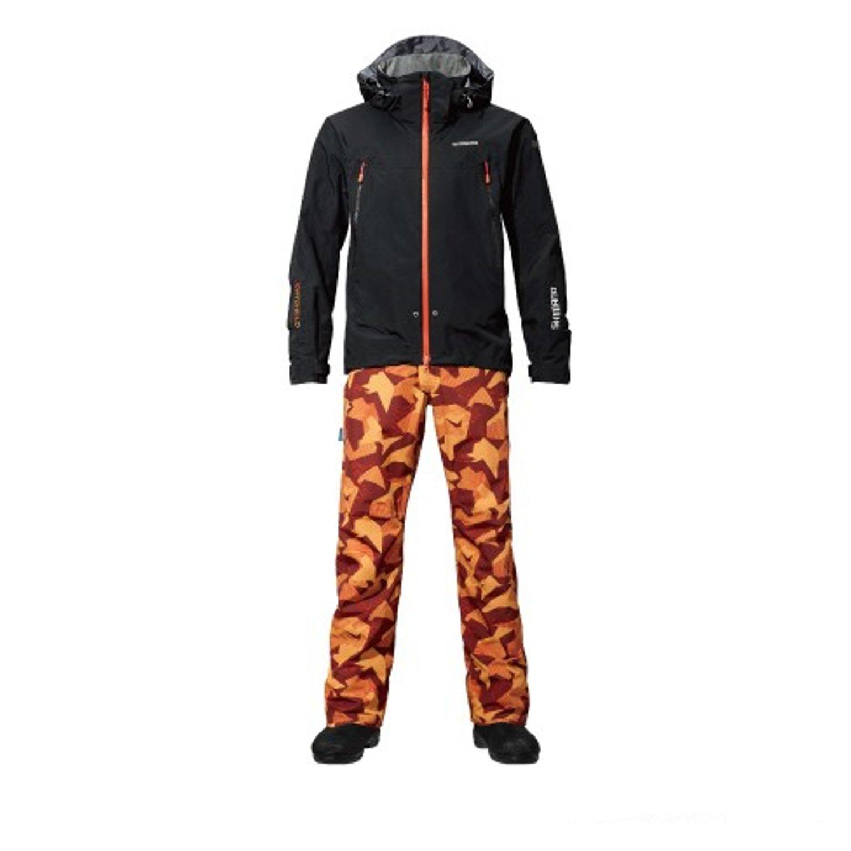 シマノ DSアドバンススーツ RA-025P B01BCY3SH4 Medium ブラック/オレンジコーラル ブラック/オレンジコーラル Medium