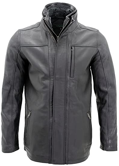 boy complimentary shipping new lifestyle Men's Classic Warm Black Leather Biker Jacket at Amazon ...
