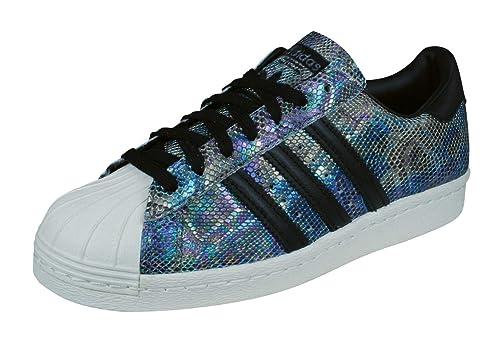best service 6684d 2ac70 adidas Originals Superstar 80s Zapatillas de Deporte para Hombres zapatos- Black-36