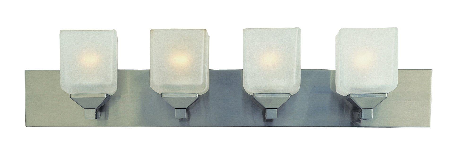Trans Globe Lighting 2804 PW Indoor  Edwards 30'' Vanity Bar, Pewter