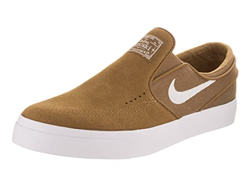 quality design 544a8 1d622 Nike Men s Zoom Stefan Janoski Slip, Golden Beige White, ...