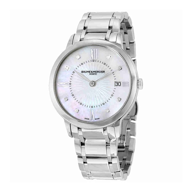 Baume & Mercier Classima Perlmutt Diamant 36 mm Damen-Armbanduhr 10225