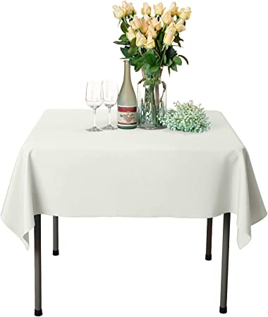 Veeyoo Nappe Carree Nappe De Table 100 Polyester Pour Table