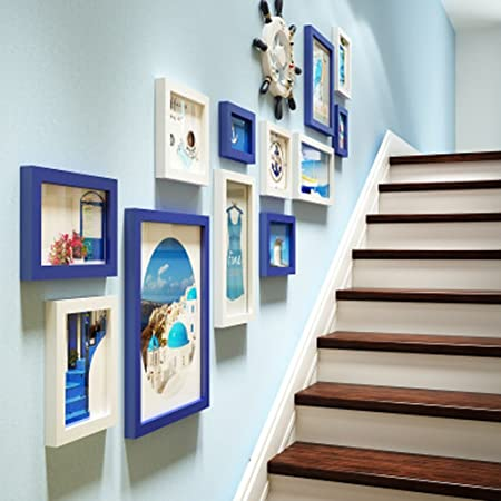 Ymxlqq European Staircase Photo Wall Combination Of Creative