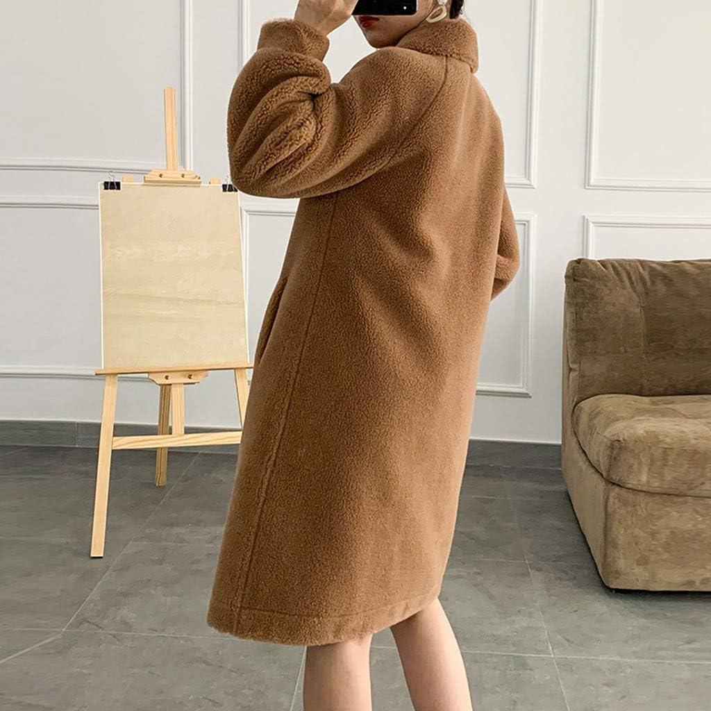 Allegorly Manteau Femme Hiver Doudoune Femme Longue Duffle