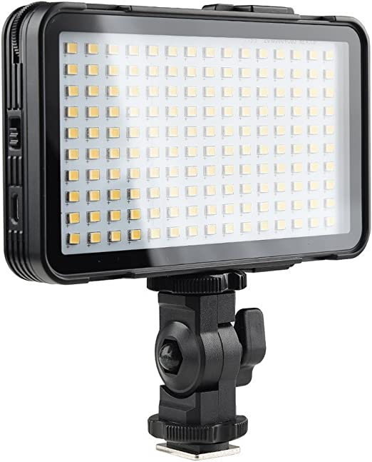 GODOX Smartphone LED Video Light with Built-in Lithium Battery 10-100/% Dimmable 5600K CRI95 10-100/% On-Camera Video Light Panel for YouTube Vlogging LEDM150 Instagram