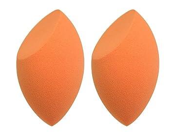 9cf67a7b5090 Puna Store® Complexion Sponge - Orange 2 Pieces  Amazon.in  Beauty